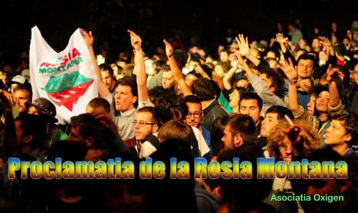 Proclamatia de la Rosia Montana Proclamatia de la Rosia Montana proclamatia RM