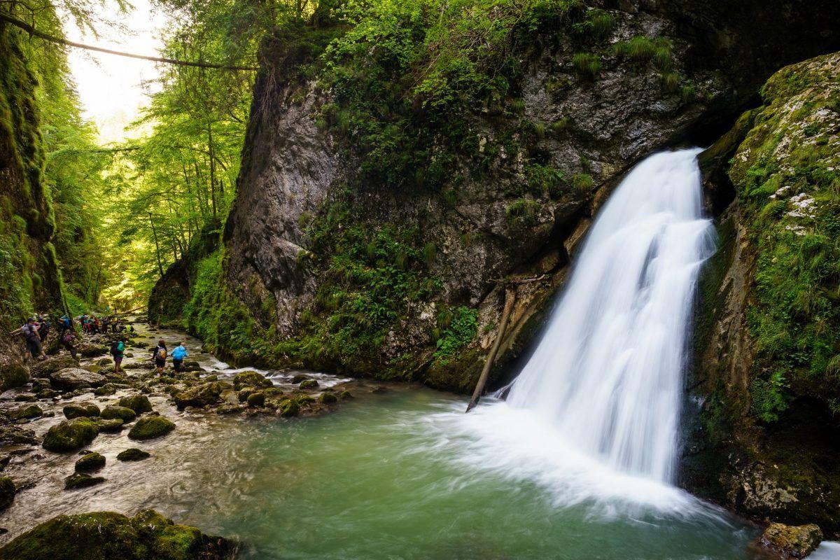 Cascada Evantai - Sarmis